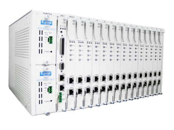 Fiber and G.SHDSL modems chassis - C5600