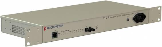 Fiber optic G.703 Codir-IEEE C37.94 Converter