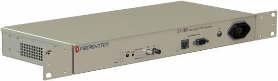Fiber optic G.703 64kbps codir converter