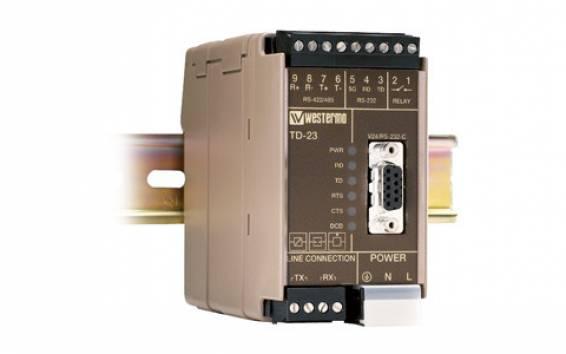 Multidrop modem TD-23 LV with relay