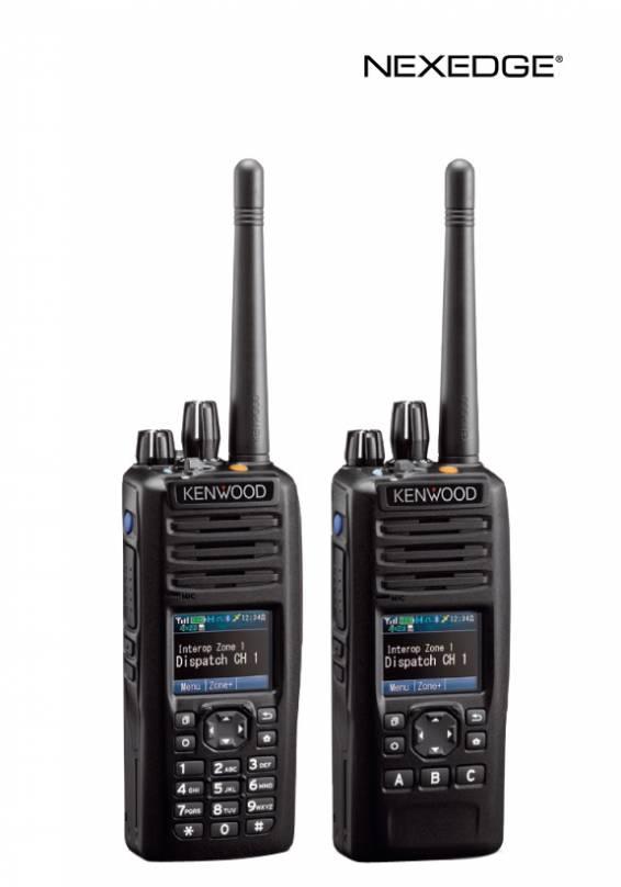 VHF/UHF/700-800 MHz Digital Transceiver