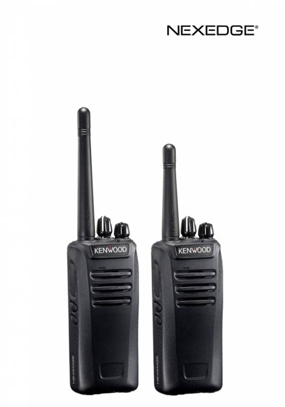 NEXEDGE® VHF/UHF FM and Digital Portable Radios