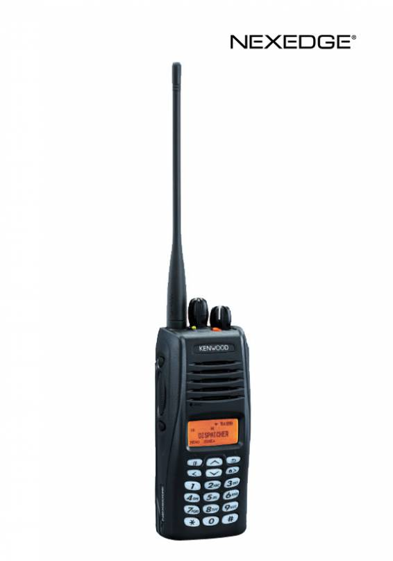 NEXEDGE® 800/900 MHz Digital and FM Portable Radios